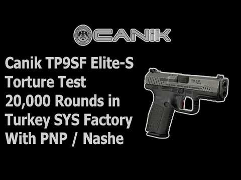 Canik TP9SF ELITE S 20,000 Rounds Test