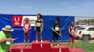 8 & U Girls Region X Mini Javelin Awards