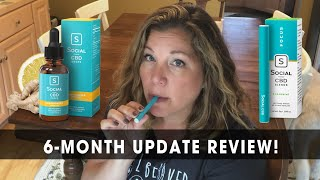 6-month Update Review on Social CBD Vape Pen & Tincture!