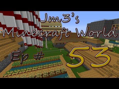 Jm3's Minecraft World (1.4.2) | EP53 | Iron Golem transporting