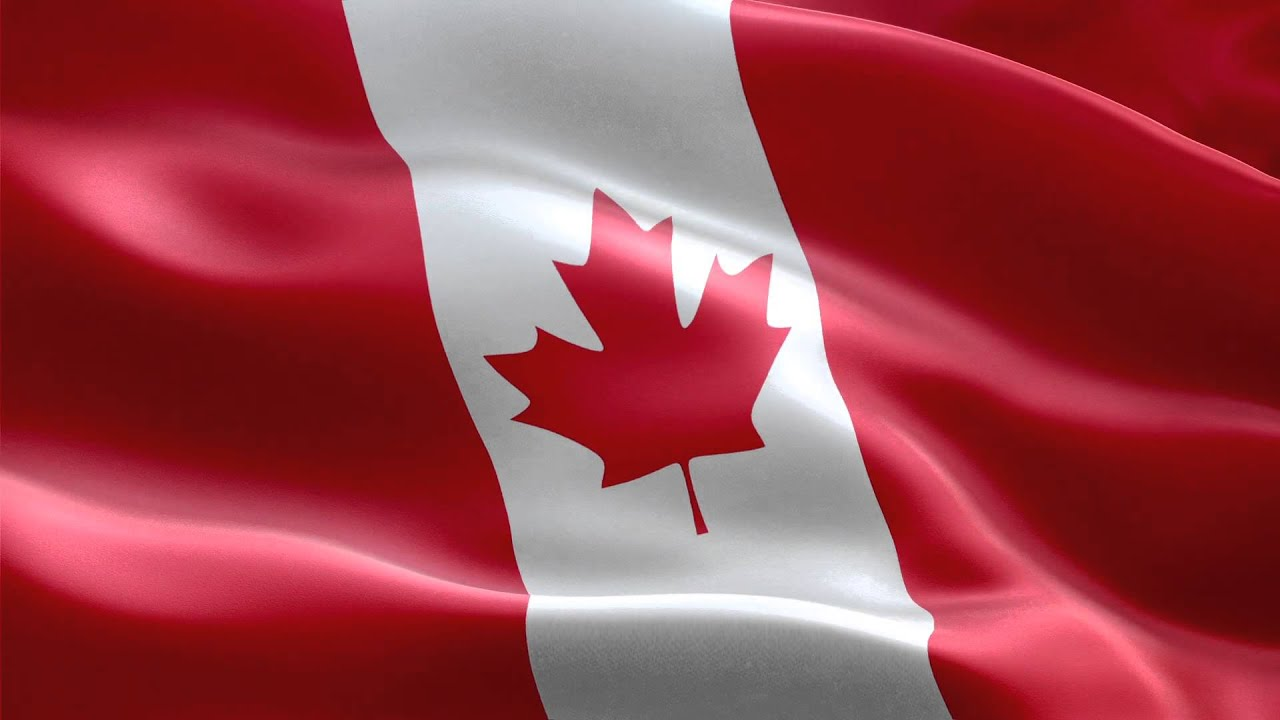 canada flag hd 1080 youtube
