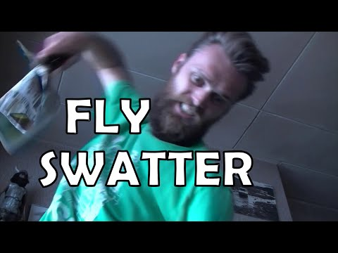 First World Problems Solved With 3D Printing: Fly Swatter