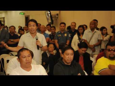 the vice mayor of san fernando of cebu city