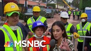Rescuers Explain Efforts To Save Children Trapped Under Collapsed Mexico City School | MSNBC