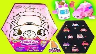 Королевские #МАШИНКИ Шопкинс + Малюсенькие Водители Car Toys - Shopkins Cutie Cars - Май Тойс Пинк