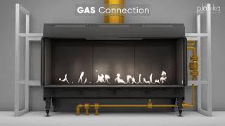 Sinatra – Erstellen Sie Ihre benutzerdefinierte gas-Kamin mit linearer Flamme