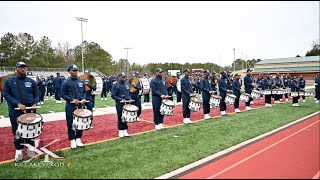 "Jackson State University's ""War & Thunder"" Percussion Feature - 2020 Honda BOTB Rehearsal"