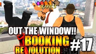 MDickie's Booking Revolution 3D #17: Out the Window Rumble