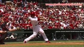 David Freese Hitting Slow Motion BAT PATH - 10000fps St. Louis Cardinals