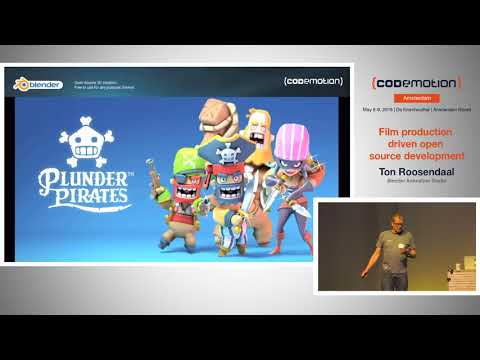 Keynote: Film Production Driven Open Source Development - Ton Roosendaal - Codemotion Amsterdam 2018