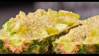 Фруктовый салат в ананасе | Зощенко. Сладкие рассказы