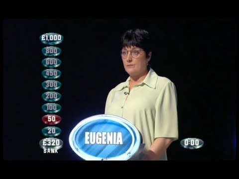 Weakest Link - 27th March 2001