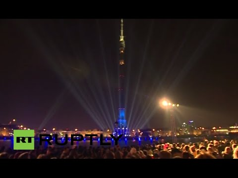 LIVE from the opening of the «Circle of light» in Moscow