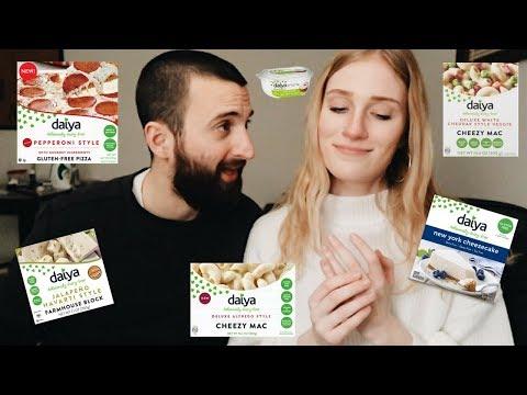 Tasting Daiya VEGAN Dairy Products | BUY OR BYE?