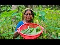 Taro Spinach Recipe: Kuchu Shak & Shis Notey Shak Recipe by Village Food Life