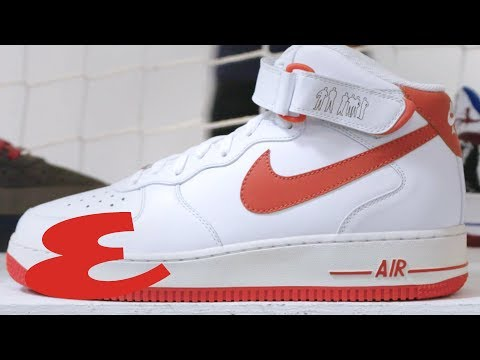 Inside the 35th Anniversary of Nike's Air Force 1 | Esquire