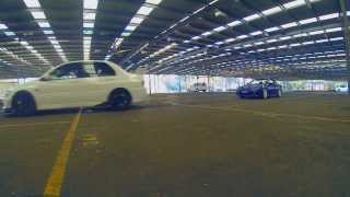 Downshift August Meet. Flybys and C63 Burnout | HD
