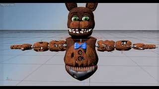 [C4D Speed] Create Animatronic На русском FNAF