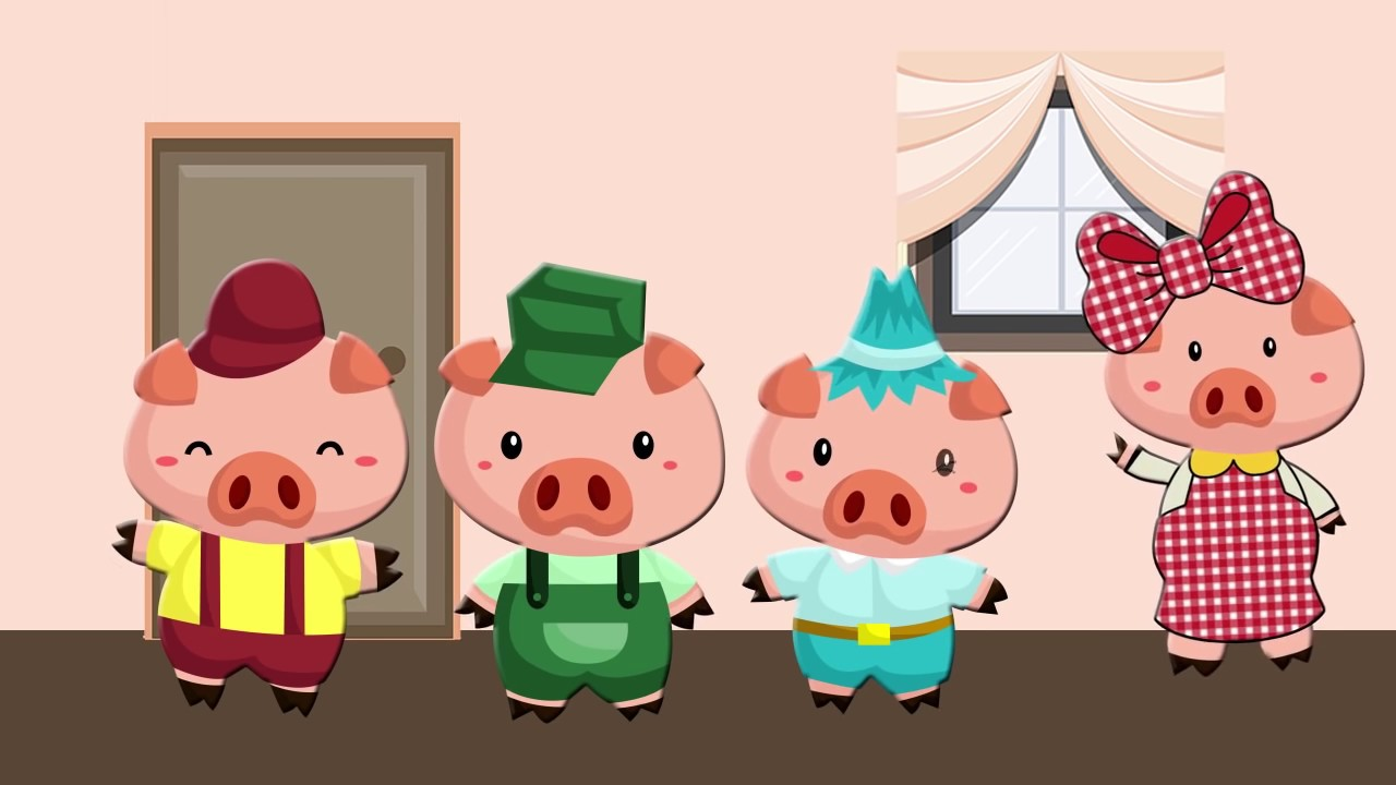 The Three Little Pigs Story for Kids - YouTube
