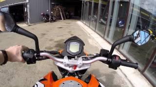 [До отсечки] обзор мотоцикла KTM Duke 200