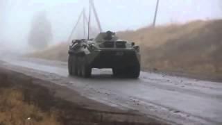 Convoi de TANCURI RUSESTI spre Ucraina