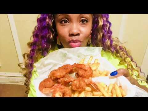 Hook's Fish And Chicken Mukbang