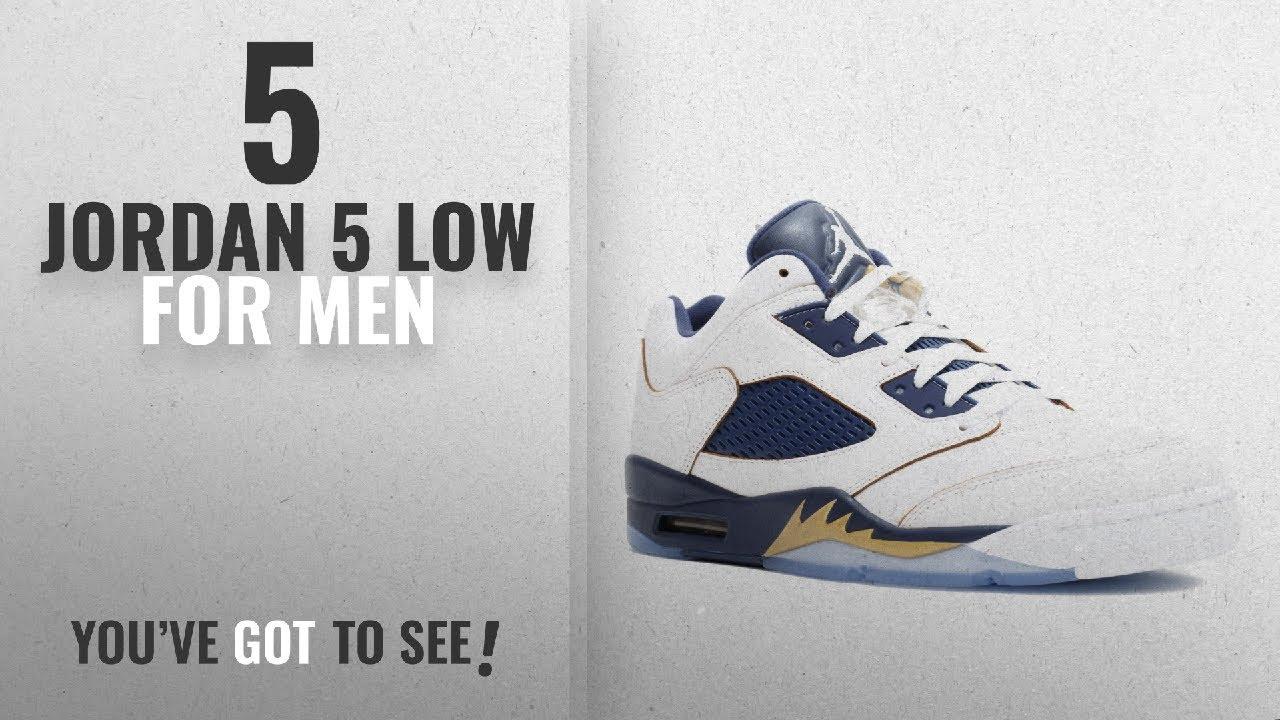 """Top 10 Jordan 5 Low  2018    Jordan Air 5 Retro Low """"Dunk From Above ... 1a5460220"""