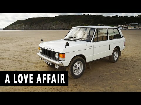 MY LOVE AFFAIR WITH A RANGE ROVER CLASSIC. Pendine Sands, Wales
