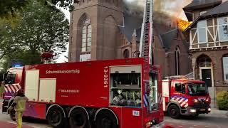 Brand Sint Urbanuskerk Bovenkerk Amstelveen Blikopnieuws.nl