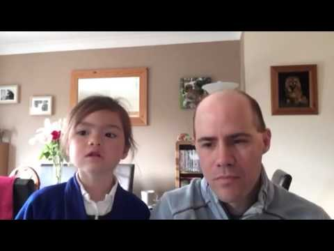 Isabelle (age 5) sings Naughty from Matilda the Musical