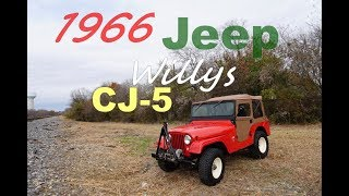 Video Classic 1966 4x4 Jeep Willys CJ-5 Drive & Tour in 4K download MP3, 3GP, MP4, WEBM, AVI, FLV September 2018
