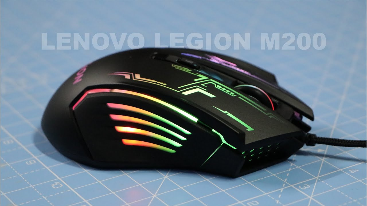 Lenovo Legion M200 - Gaming Mouse - YouTube