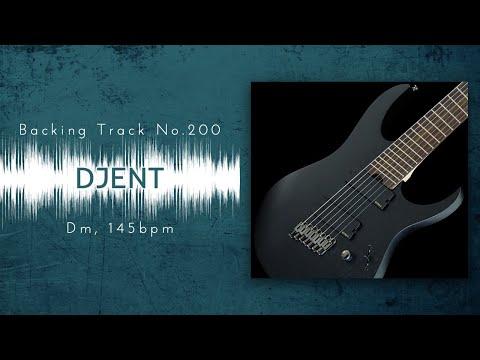 """D""jent / Progressive METAL Backing Track in Dm | BT-200 Mp3"