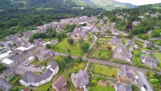 Pitlochry from the Air