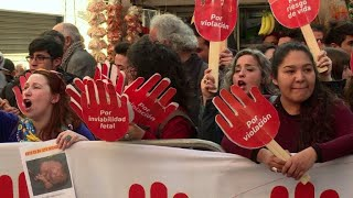 Aborto terapéutico triunfa en Tribunal Constitucional en Chile 2017 Video