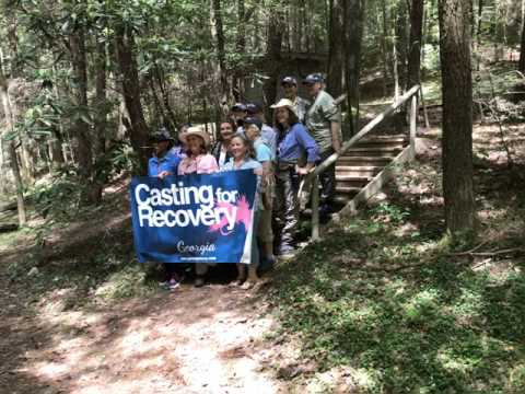 Fly Fishing With Casting For Recovery And Breast Cancer
