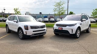 Kia Telluride Vs Land Rover Discovery Comparison Review
