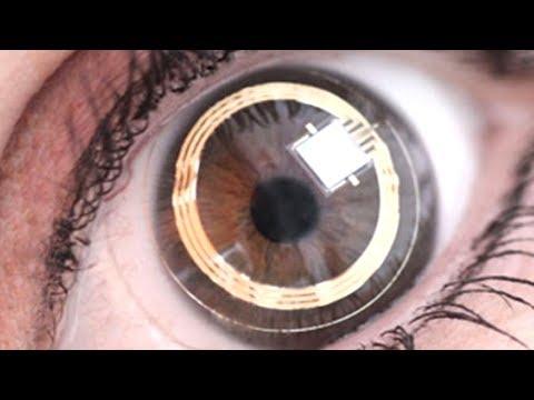 """Google Invents """"Smart"""" Contact Lenses"""