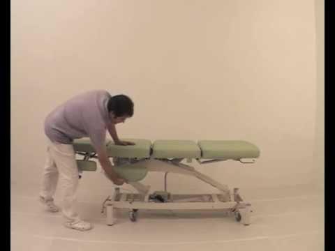 Table de massage lectrique haute gamme pro medigam youtube - Chaise massage electrique ...