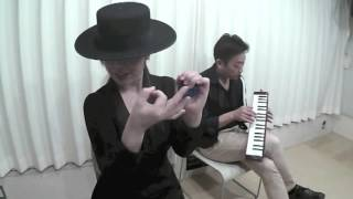 カスタネット ミハルス☆アキ(山本晶子)http://yamamoto-akiko.com 鍵...