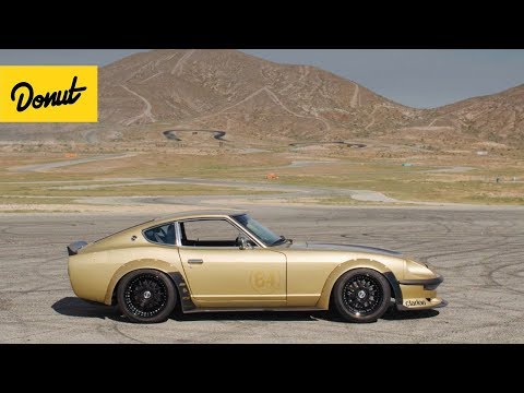 Upgrading 280Z Engine & Turbo | Drift Car Dynamics EP1 | Donut Media