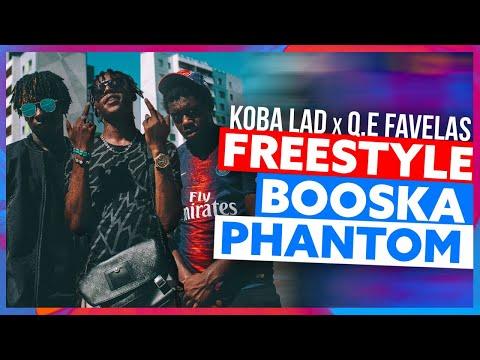 Koba LaD feat Q.E Favelas | Freestyle Booska Phantom
