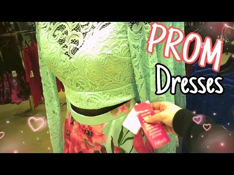 7a797647ae0 Prom Dress Shopping at Dillard s 2019 - YouTube