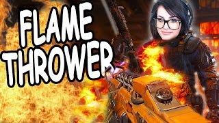 """BURN"" Flamethrower Specialist! 