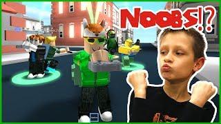 NOOB Follows me in Roblox!
