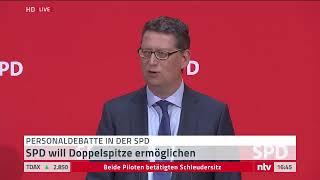 Live: SPD sucht neue Spitze