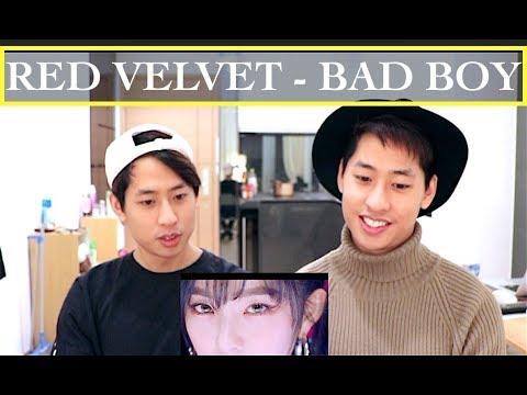 RED VELVET BAD BOY MV REACTION  레드벨벳