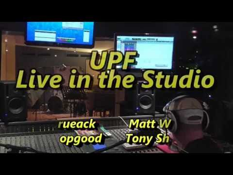 UPF Live in the Studio - Three Part Interview & Music (teaser)