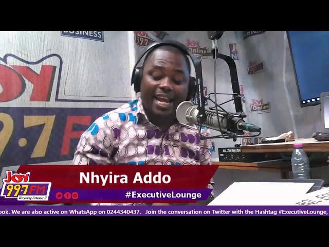 #ExecutiveLounge on Joy FM (15-1-19)