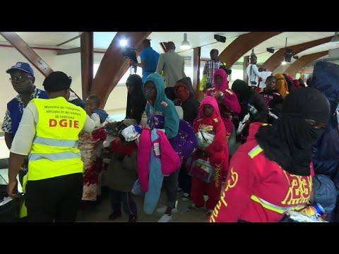Ivorian migrants repatriated from Libya